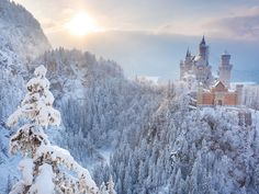 The 10 Most Beautiful Snow Castles In the World - Photos - Condé Nast  Traveler