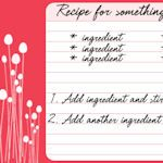 Super cute customizable recipe cards to print off. NICE