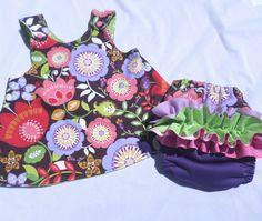 6-12m Pinafore Dress & OS AI2  www.hyenacart.com/123clothme
