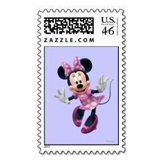 Minnie Mouse 2 Stamps