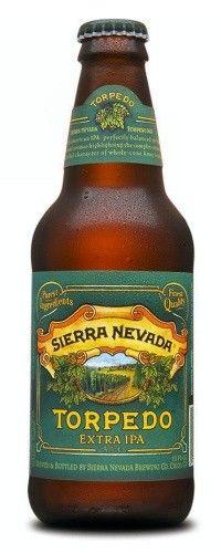 Cerveja Sierra Nevada Torpedo Extra IPA, estilo India Pale Ale (IPA), produzida por Sierra Nevada Brewing Company, Estados Unidos. 7.2% ABV de álcool.
