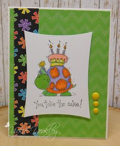 Take the Cake vky by Vickie Y - at Splitcoaststampers