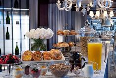 DELECTABLE BREAKFAST  Los Angeles Restaurant Photos | SLS Hotel at Beverly Hills