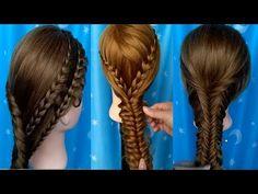Peinados Para Niñas 2017/Peinados para cabello/Como Hacer Peinados Faciles rapidos/Trenzas Faciles - YouTube