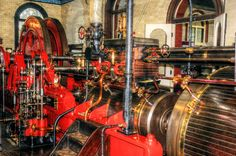 Steam Pump Engine from the Cambridge Museum of Technology  Pump Engine by teslaextreme.deviantart