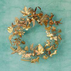 Dresden Ornament Wreath