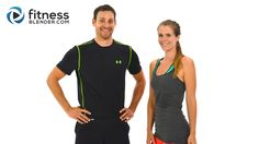 Fat Burning 52 Minute HIIT Cardio & Abs Workout - Warm up & cool down stretches included, no equipment, 258-572 calories burned, 100% free, Day 3/5 of the 5 Day Workout Challenge @ http://bit.ly/XtRUDb