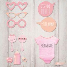 Amusez-vous avec nos créations Photobooth pour votre baby shower !