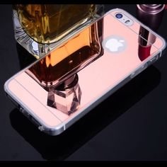 B3G1 6/6s Luxury rose-gold mirror iPhone case New, with packaging. Has a thin layer protector on the back. Great for taking selfies! Buy 3 get 1 free! Purchase 3, I'll ship 4. No trade! Accessories Phone Cases