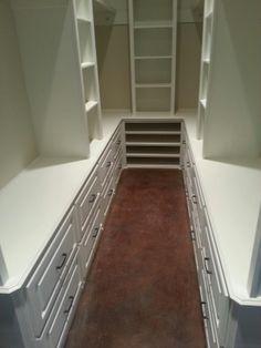 Corner Closet Deluxe Rod And Shelf On Corner Unit For