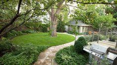 How To Transform A Sad Garage   Yard Into A Thing Of Beauty  http://www.rodalesorganiclife.com/garden/urban-backyard-after/?utm_source=facebook.com