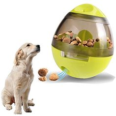 ShuGuan IQ Treat Ball Dog Food Ball Toy, Interactive Treat-dispensing Ball for Dogs #DogToyBalls