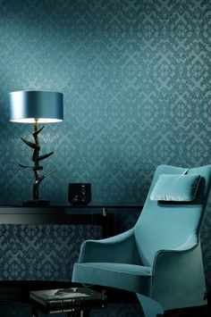 Blue Wednesday @ #TheDecoFactory #interior #Paint #Carpet #Curtains #Home #Decoration #DelicatieChic