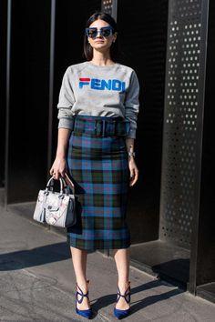 Milan Fashion Week street style autumn/winter '18/'19 - Vogue Australia