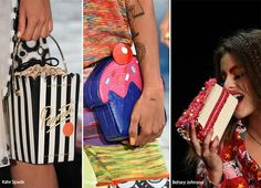 Spring/ Summer 2016 Handbag Trends: Food Shaped Bags--here is some more inspiration for a DIY fashion project.