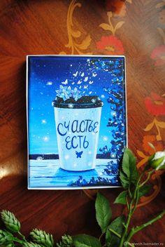 Купить Счастье Есть! в интернет магазине на Ярмарке Мастеров Blue Art, Blue Artwork