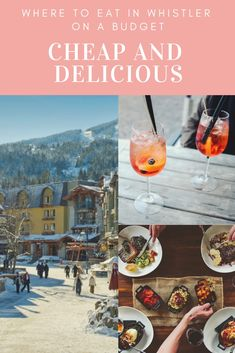 You've arrived in Whistler, and you are HANGRY. Making the crucial decision about where to eat in whistler while under … Whistler, Colorado Winter, Skiing Colorado, Riverside Cafe, Restaurant Deals, Ice Climbing, Vintage Ski, Cross Country Skiing, Best Places To Eat
