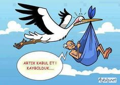 This must be my stork! A little humor Funny Cartoons, Funny Comics, Funny Jokes, Hilarious, Really Funny, The Funny, Funny Cartoon Pictures, Humor Grafico, Just For Laughs