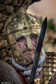 The Emperor Julian in battle.