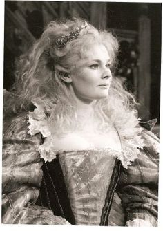 Judi Dench as Titania by rosewithoutathorn84, via Flickr