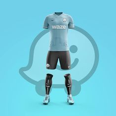 Which soccer fan has never dreamed of designing the jersey of a professional team? Designers from Graphic UNTD have developed an interesting concept as they ima Sports Uniforms, Sports Shirts, Football Kits, Football Jerseys, Futbol Red, Apps, Manchester City Wallpaper, Snapchat, Sport Shirt Design