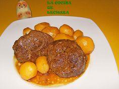 LA COCINA DE LECHUZA-Recetas de cocina con fotos paso a paso: RECETA GALLEGA: JARRETE DE TERNERA ASADO