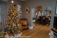 regular frills | sparkle and shine living room christmas decorations