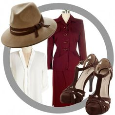 Agent Carter outfit