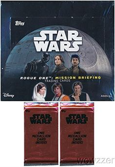 2016 Topps Star Wars Rogue One Mission Briefing MASSIVE Factory Sealed 24 Pack Retail Box with 144 Cards Plus SPECIAL BO @ niftywarehouse.com #NiftyWarehouse #Geek #Products #StarWars #Movies #Film