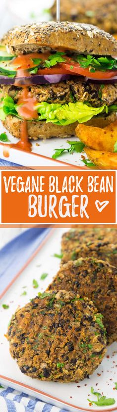 Vegane Bohnen-Burger mit schwarzen Bohnen und Champignons - eines meiner Lieblingsrezepte für vegane Burger! Der Beitrag enhält noch weitere vegane Rezept Ideen für einen Grillabend! Außerdem stelle ich euch das Grillsortiment von LEONARDO vor.