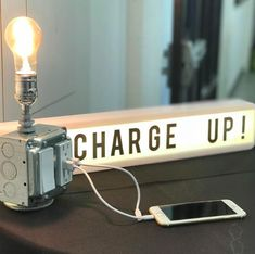 CUTE CHARGING STATION FOR BEAUTYBAR Beauty Bar, Flip Clock, Si Swimsuit, Home Decor, Hipster Stuff, Decoration Home, Room Decor, Home Interior Design, Home Decoration