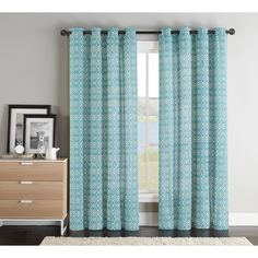 These Brayden partial polyester/cotton/linen window panel is an elegant choice…