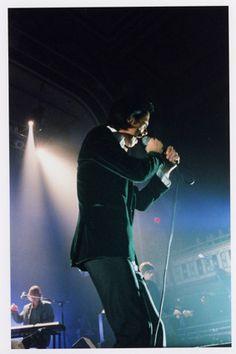 Nick Cave live.