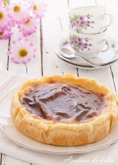 Flan parisién Kitchen Recipes, My Recipes, Dessert Recipes, Cooking Recipes, Desserts, Good Food, Yummy Food, Salty Foods, Bread Machine Recipes