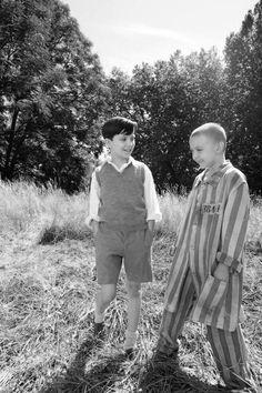 O rapaz do pijama às riscas