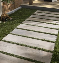 Concept Terrace Porcelain Planks from Artisans of Devizes. Wood-effect porcelain planks that are great for outdoor patios.