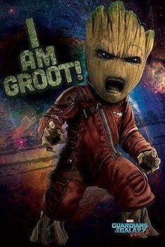 #MarvelUniverse #GoTGVol2 #Groot