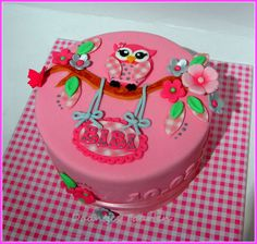 by daan69 Pink Hoot Owl Cake Owl Cake — Children's Birthday Cakes party Girl Boys Kid Kids