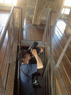 El fotógrafo José Manuel Ballester, en Toledo.