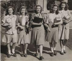 Image result for 1940 teenage fashion