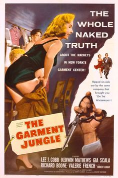 Watch->> The Garment Jungle 1957 Full - Movie Online