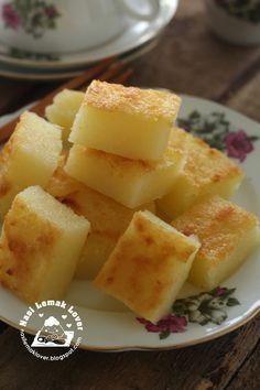 Nasi Lemak Lover: Bingka Ubi / Baked Cassava Cake 烤木薯糕