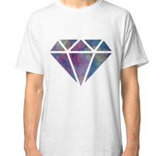 """Galaxy Diamond"" Classic T-Shirts by davinajane | Redbubble"