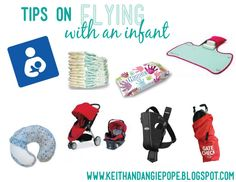 Tips on flying with an infant.