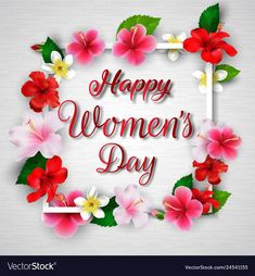 Happy Womens Day Quotes, Happy Quotes, National Womens Day, Women's Day Cards, Social Activities, Day Wishes, Ladies Day, Fabric Patterns, Vector Free