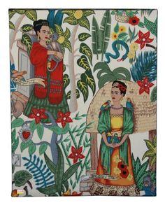 Frida Kahlo Canvas – Bolt of Cloth