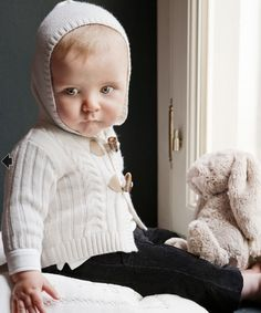 I will pay someone a million dollars to knit this for my baby.