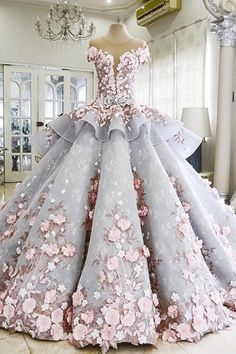 Blue Ball Gown Prom Dresses, Gown Long Prom Dresses, Pretty Light Blue Backless Quinceanera Dress, #promdresses #longpromdresses #bluepromdress #eveningdress #partydress
