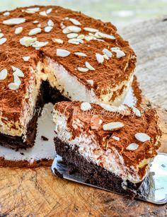 Torta tartufo al cioccolato bianco senza farina ricetta vickyart arte in cucina