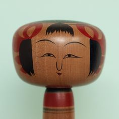 Takahashi Yoshitaka 高橋佳隆 (1927-1995), Master Takahashi Chuzo, 19.5 cm, cherry wood, detail
